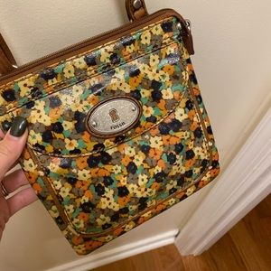 Floral Fossil Crossbody